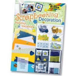 Scrapbooking Decoration, Motiv Holiday Urlaub, Deco Set