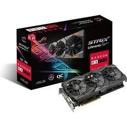 Asus ROG Strix/RX580/O8G/Gaming AMD Radeon Grafikkarte (8GB GDDR5 Speicher, PCIe 3.0, HDMI, DisplayPort)