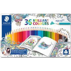 36 STAEDTLER ergo soft Buntstifte farbsortiert
