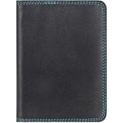 mywalit Plastic Inserts Kreditkartenetui Leder 8 cm black/pace