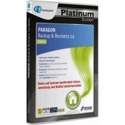 Paragon Backup & Recovery 14 Home - Avanquest Platinum Edition Vollversion, 1 Lizenz Windows Backup