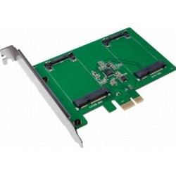 LogiLink 0+2 Port SATA III-Controllerkarte PCIe PC0078