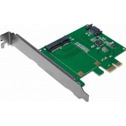 LogiLink 0+2 Port SATA III-Controllerkarte PCIe PC0077