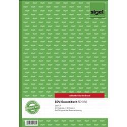 Sigel EDV-Kassenbuch, 1. und 2. Blatt bedruckt, A4, selbstdurchschreibend, 2 x 40 Blatt