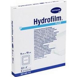 Hydrofilm Plus Transparentverband 9x10cm 5 ST