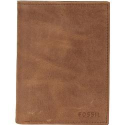 Fossil Hunter Geldbörse Leder 10 cm brown