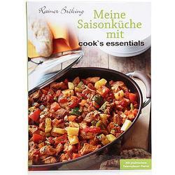 COOK'S ESSENTIALS Saisonküche mit Rainer Bröking, 47 raffinierte Rezepte auf 111 Seiten