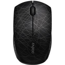 RAPOO 3300P+ Maus, Schwarz/Weiß