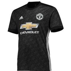 Adidas Manchester United Ausw�rtstrikot 2017/2018 Kinder - schwarz