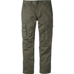 Cargo-Hose Regular Fit Straight in grün für Herren von bonprix