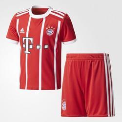 Adidas FC Bayern M�nchen Heimtrikot 2017/2018 Minikit - rot