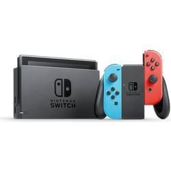 Nintendo Switch Konsole 32 GB neon-rot-blau