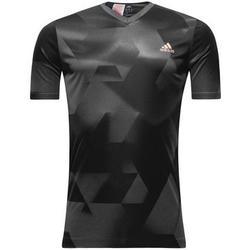 adidas Training T-Shirt - Grau/Schwarz Kinder