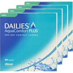 Dailies DAILIES AquaComfort Plus Toric 4x90 Tageslinsen, Alcon / Ciba Vision