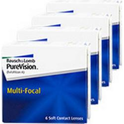 Purevision PureVision Multi-Focal 4x6 Monatslinsen, Bausch & Lomb