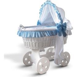 Klubs Kindermöbel Stubenwagen blau