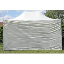 Faltpavillon ALU 3x4,5 m ProfessionalPlus beige wasserdicht Faltzelt