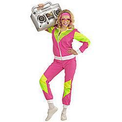 NEU Damen-Kostüm 80er Jahre Trainingsanzug, S
