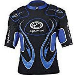 Optimum Jungen Schutzkleidung Inferno Schulterpolster Small schwarz / blau