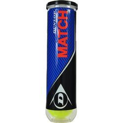 Dunlop Match Tennisball (Farbe: 010 gelb)