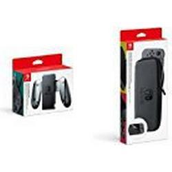 Nintendo Switch Joy/Con/Aufladehalterung & Nintendo Switch/Tasche & /Schutzfolie