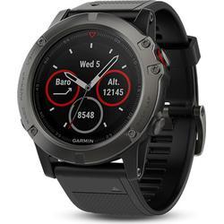 Garmin fenix 5X Saphir - GPS Multisport Smartwatch - grau/schwarz - 010-01733-01