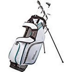 Wilson Staff Damen Golf / Schlägersätze PRO HDX GRA LRH 1/2 SET, Schwarz Mint, RH (Rechte Hand), Ladies (L), 1, WGG130003