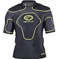 Optimale Men'Schutzkleidung Origin Schulterpolster schwarz schwarz / leuchtend gelb XX/Large