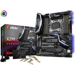 MSI X299 GAMING PRO CARBON AC, 2066, DDR4-4266+(OC), 2x M.2,11x USB 3.1(3x Gen2 & 8x Gen1),1x USB-C, Intel LAN & WIFI, PCIe