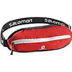 Salomon Kleiner Lauf/Hüftgurt, Unisex, Regulierbar von 60 auf 120 cm Umfang, 50 g, Agile Single belt, rot (bright red), L38255000