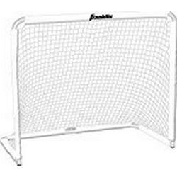 Franklin Multi/Sport/Tor / Stabiles Outdoor//Indoor/Tor zum Fußballspielen I ideal für Straßenhockey, Feldhockey, Lacrosse I schnelles Zusammenbauen I Sport & Freizeit I Weiß / 127 x 66 x 107 cm