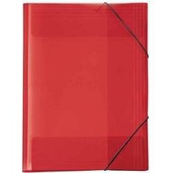 Veloflex Ordnungsmappe A4 Crystal rot