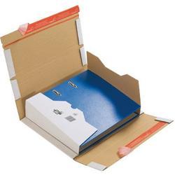 ColomPac Versandschachtel für Ordner 1-wellig 320x290x35-80 mm weiß 20 Stück