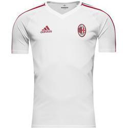 AC Mailand Training T-Shirt - Weiß/Rot/Schwarz Kinder