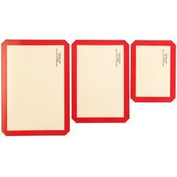 Ofen- & Backmatten aus Silikon 3 Größen 3 Stück
