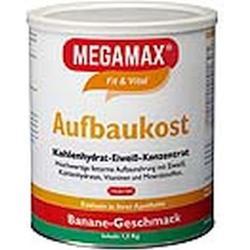 MEGAMAX Aufbaukost Banane Pulver 1.5 kg