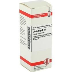 CIMICIFUGA D 12 Dilution 20 ml