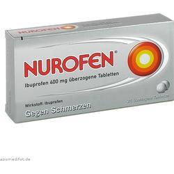 NUROFEN Ibuprofen 400 mg überzogene Tabletten 24 St