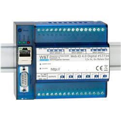 W&T Web-IO, 12 x digitaler Eingang, 6 x digitale Relais