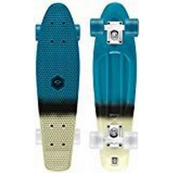 Osprey Unisex komplett Retro Kunststoff Mini Cruiser Skateboard Einheitsgröße Paint / Blue