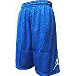 Nike Ele Blockout Short Basketball, Shorts L Blau (lt Foto blau/weiß)