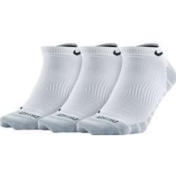 Nike Knöchel Stutzen Lightweight No-Show 3er-Pack - Weiß/Schwarz