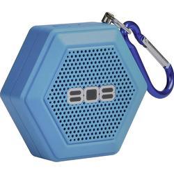 808 Audio Bluetooth® Lautsprecher Hex Tether AUX Blau