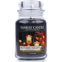 YANKEE CANDLE Duftkerze Autumn Night Brenndauer 110-150h 623g