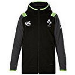 Offizielles IRFU Kinder Irland Rugby Fleece Full Zip Hoody L Tap Shoe