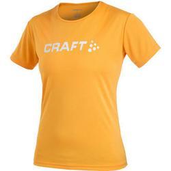 Craft Active Run Logo T-Shirt Dam-Orange-44 Utförsäljning