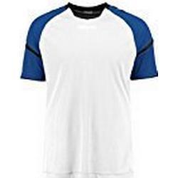 Hummel Herren Auth. Charge Short Sleeve Poly Jersey Trikot, Weiß/True Blue, S