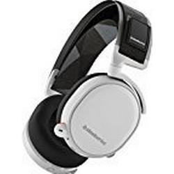 SteelSeries Arctis 7, Drahtlos Gaming/Headset, DTS 7.1 Surround für PC, PC / Mac / PlayStation 4 / Xbox One / Android / iOS / VR, Farbe Weiß