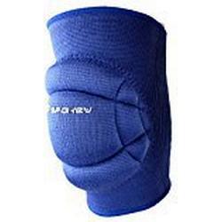 Spokey Volleyball Knieschützer, Knieschoner Secure, Blau, M