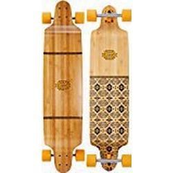Globe Uni Bannerstone Longboard, Bamboo/Honey, L